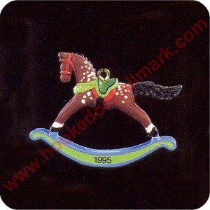 1995 Rocking Horse #8 - Miniature