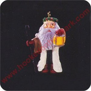 1996 Centuries of Santa #3 - Miniature