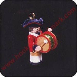 1996 Miniature Clothespin Soldier #2 - Miniature