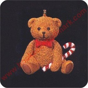 1996 Christmas Bear - Miniature