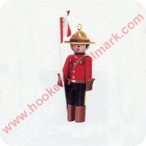 1997 Miniature Clothespin Soldier #3 - Miniature