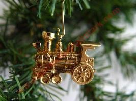 1999 Gold Locomotive, AOT - Miniature - No drawstring pouch
