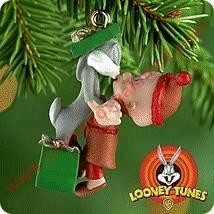 2000 Bugs Bunny and Elmer Fudd - Miniature