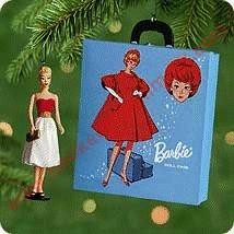 2000 Silken Flame Barbie and Travel Case - Miniature