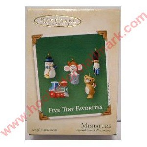 2002 Five Tiny Favorites, Set/5 - Miniature