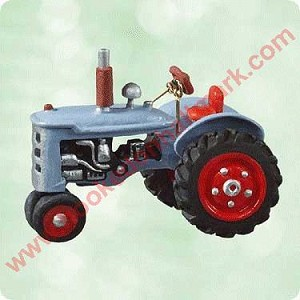 2003 Antique Tractors #7 - MINIATURE