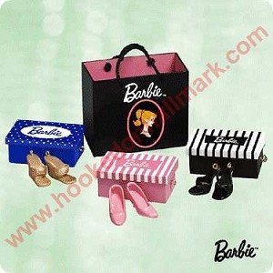 2003 Shopping for Shoes, Barbie - Miniature