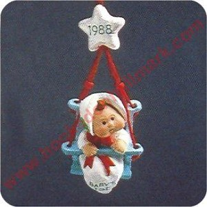 1988 Baby's First Christmas - MINIATURE