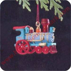 1989 Noel RR #1 - MINIATURE Locomotive