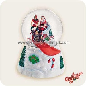 2006 Christmas Story You'll Shoot Yer Eye Out Kid Snow Globe - HARD TO FIND