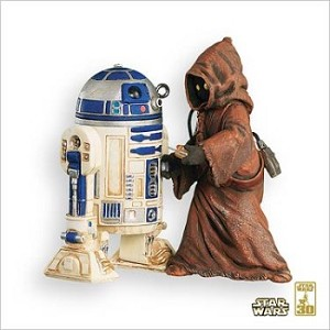 2007 Star Wars #11 R2-D2 and Jawa