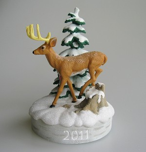2011 White-Tailed Deer, Canadian Wildlife Federation - CANADIAN EXCLUSIVE