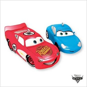 2007 Lightning McQueen and Sally
