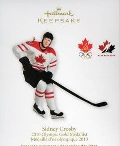 2010 Sidney Crosby, Olympic Gold Medallist - Canadian Exclusive!