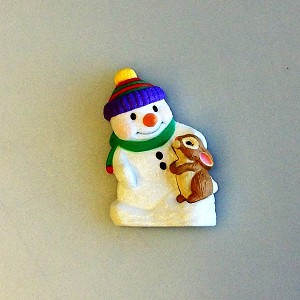Snow Buddies Magnet
