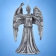 2016 Dr Who, Weeping Angel Ornament by Adler