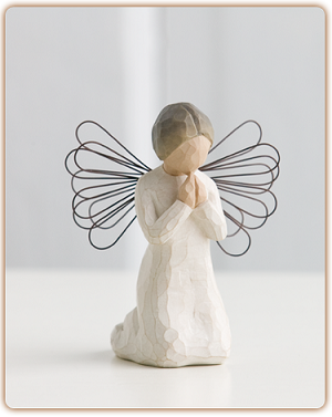 Willow Tree ANGEL OF PRAYER - Figurine Sculpture