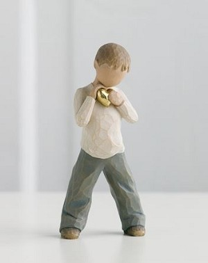 Willow Tree HEART OF GOLD - Figurine