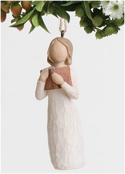 Willow Tree LOVE OF LEARNING -  Ornament