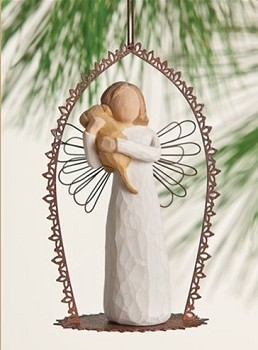 Willow Tree ANGEL OF FRIENDSHIP - Trellis Ornament