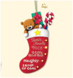 2007 Naughty or Nice Stocking - Magic - DB
