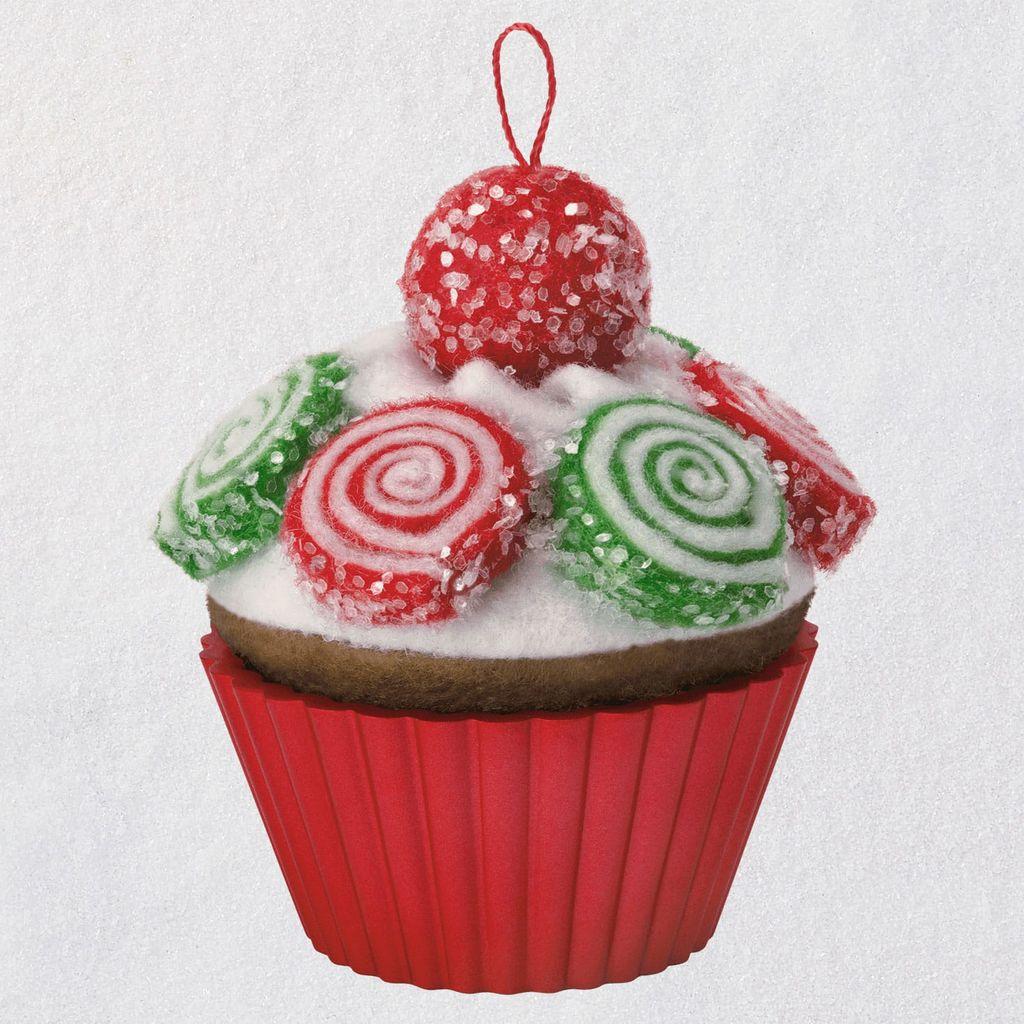 2019 Christmas Cupcake Hallmark Christmas Ornament ...