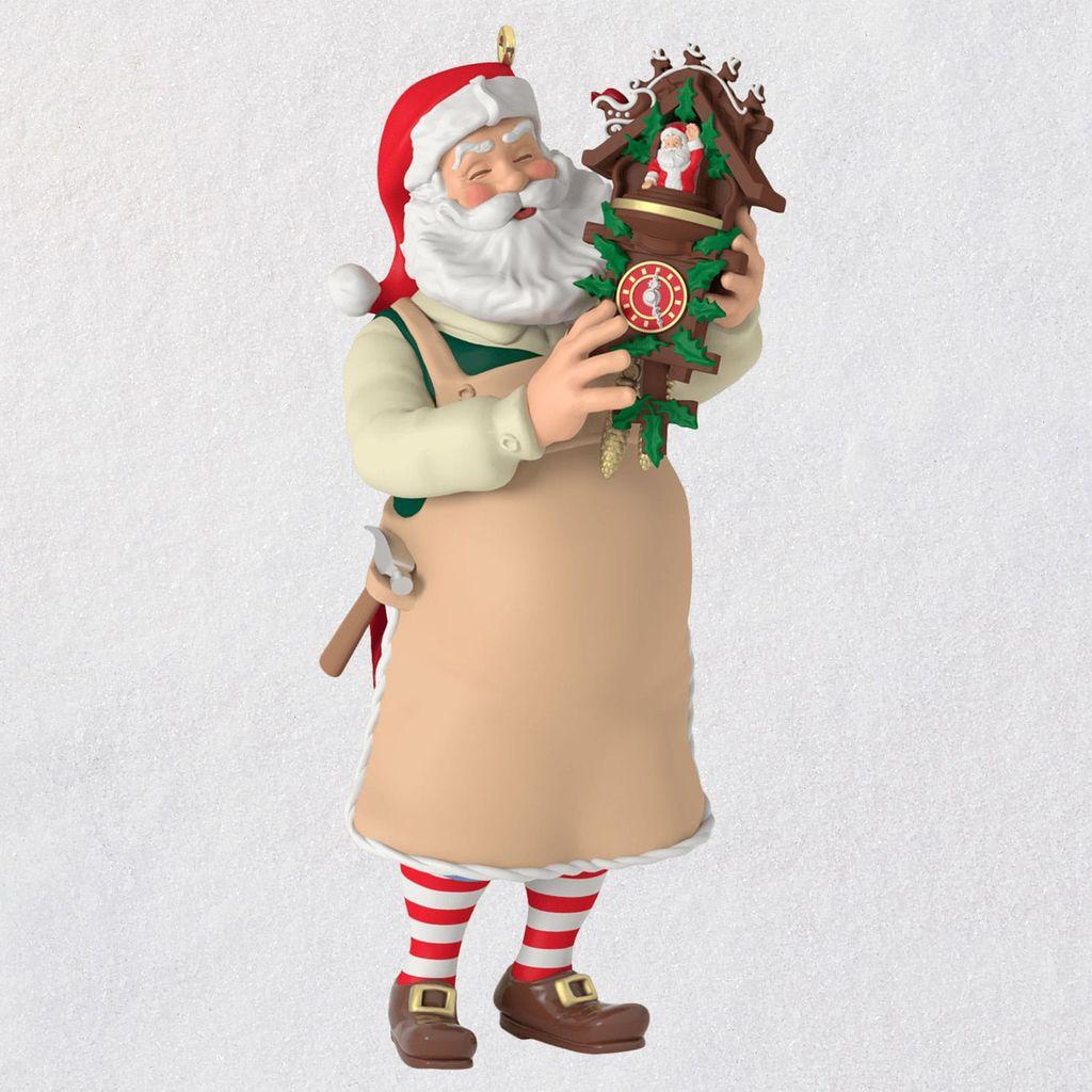 2019 Toymaker Santa Hallmark Christmas Ornament