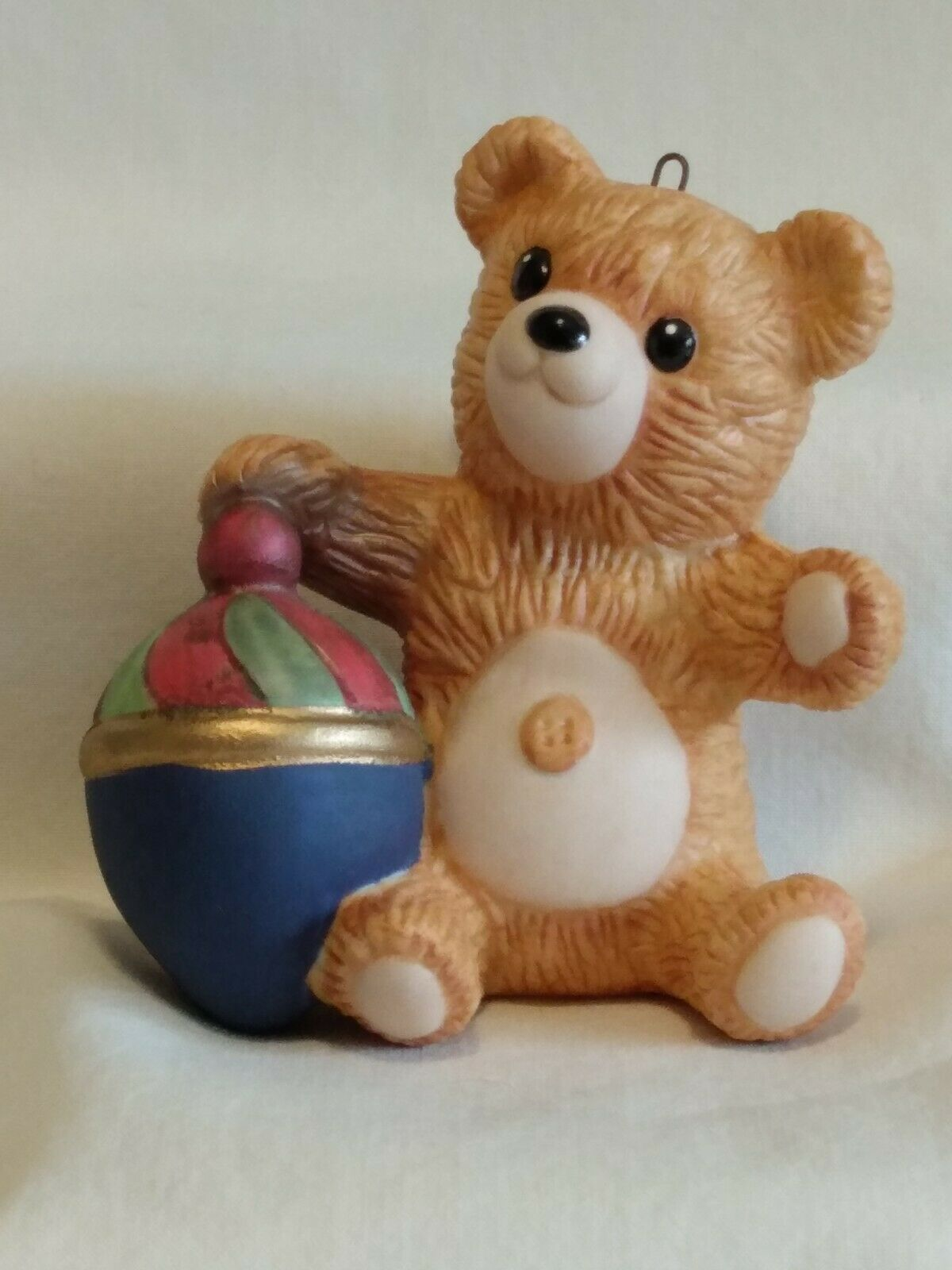1983 Porcelain Bear #1 - Cinnamon Teddy