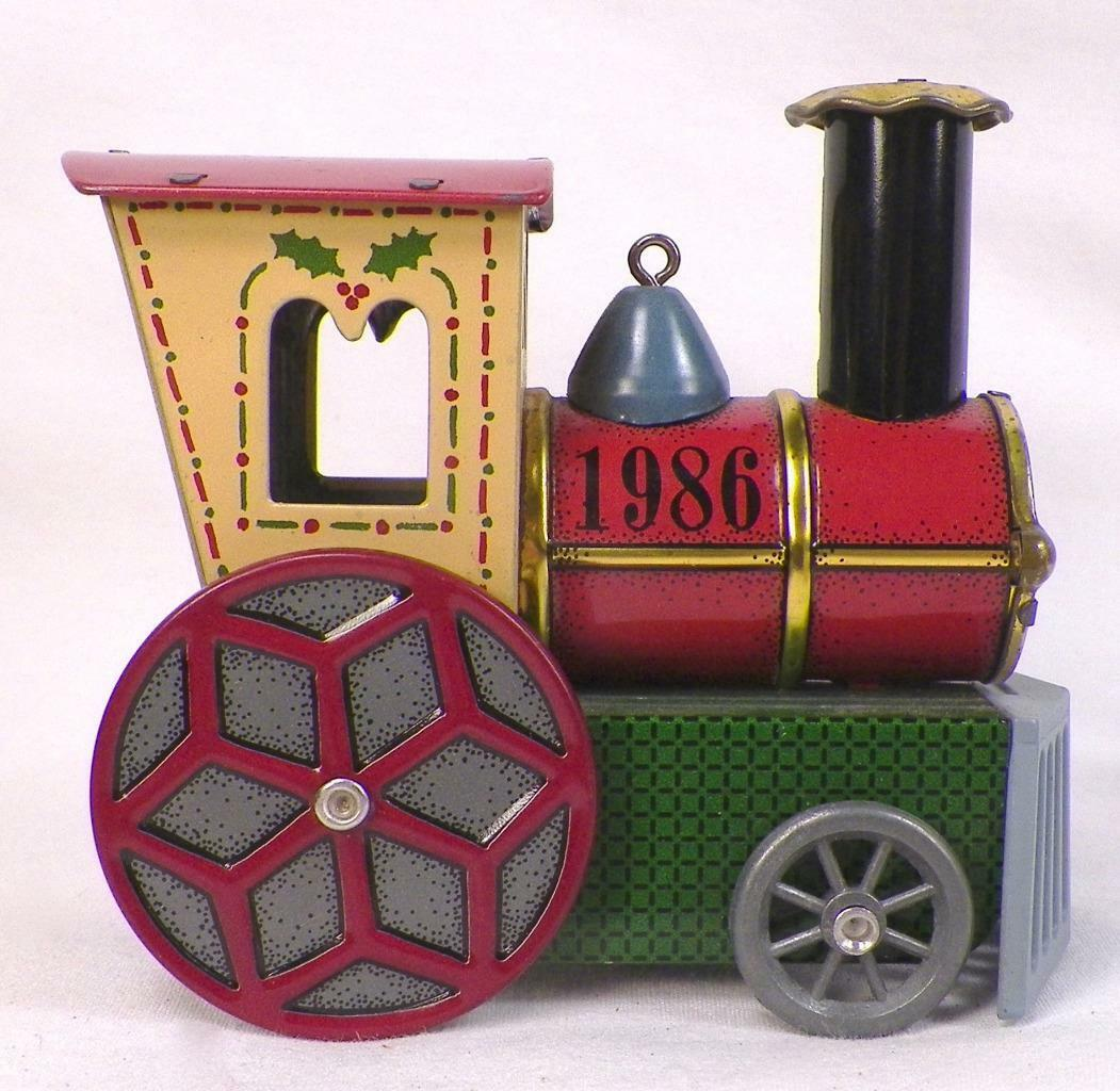 1986 Tin Locomotive #5