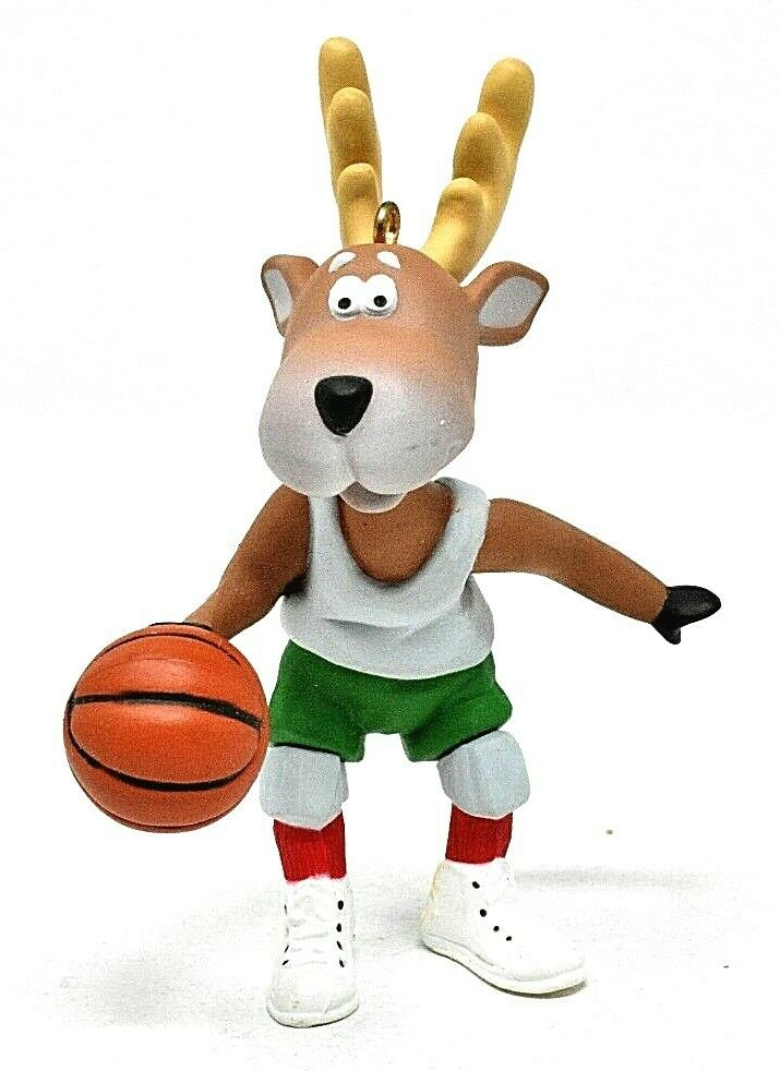 1988 Reindeer Champs #3 - Prancer Playing Basketball