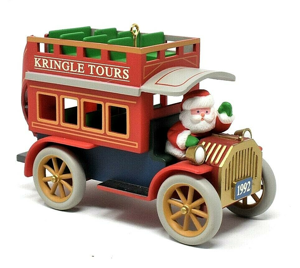 1992 Here Comes Santa #14 - Kringle Tours - Double decker bus