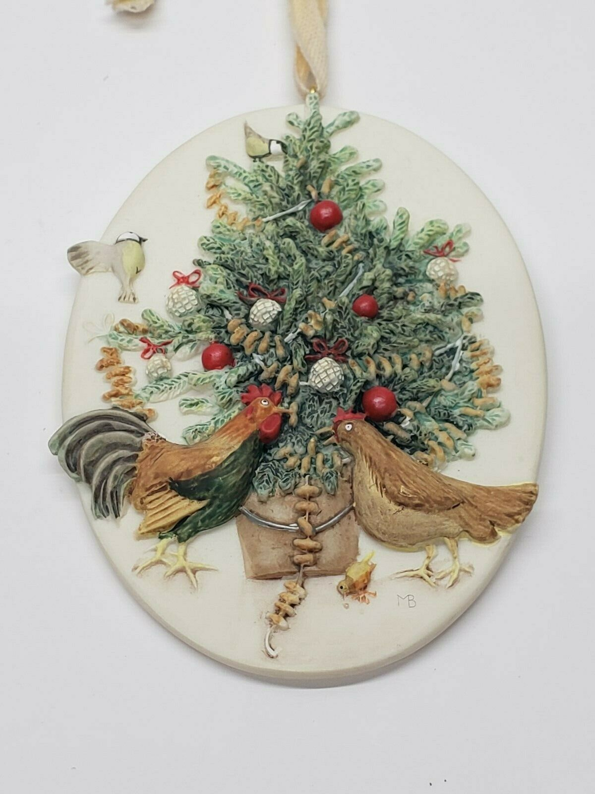 1996 Natures Sketchbook BIRDS CHRISTMAS TREE - Marjolein Bastin