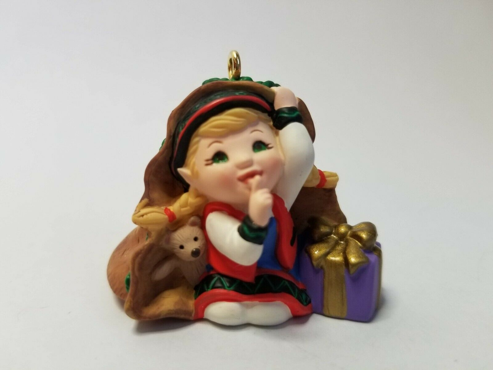2001 Curius the Elf - Club Member ornament