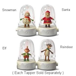 Happy Tappers Santa At Hooked On Hallmark Easter Ornaments