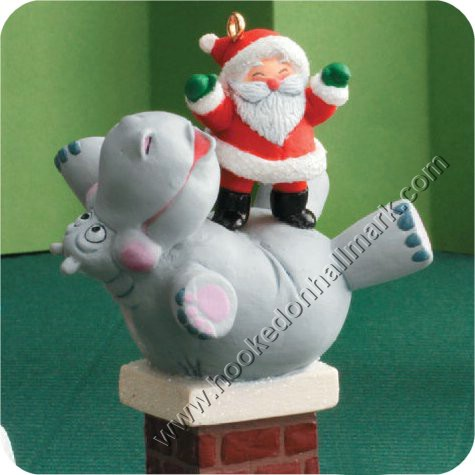 Close - 2008 I Want A Hippopotamus For Christmas Hallmark Ornament At Hooked