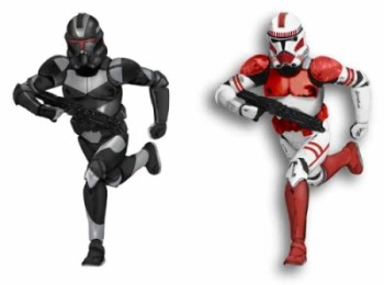 2009 Shock Trooper & Shadow Trooper SDCC - Rare ONLY 700 Produced - SDB