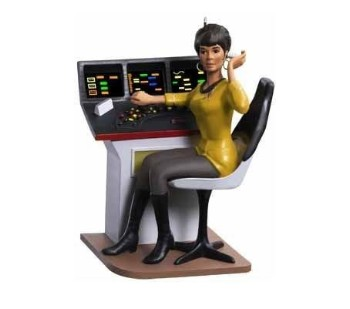 2009 Lieutenant Uhura COLORWAY, RARE SDCC - limited to 450
