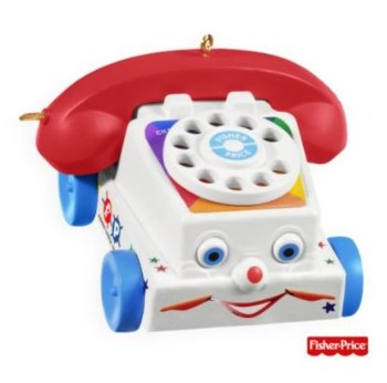 2009 Chatter Telephone - Fisher Price Ornament