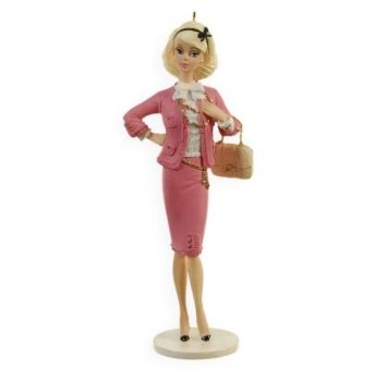 2009 Preferably Pink Barbie Doll - Ornament