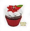 2010 Christmas Cupcake #1 - Oh So Sweet!