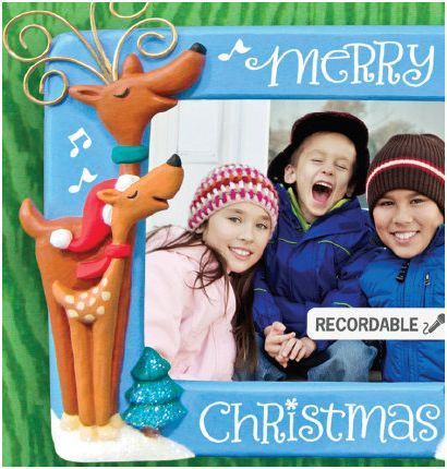 2010 We Wish You A Merry Christmas Recordable Photo Holder ...