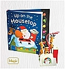 2010 Up On the Housetop - Interactive Book & Ornament