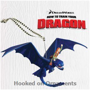 2010 how to train your dragon hallmark keepsake ornament at hooked on hallmark ornaments - How To Train Your Dragon Christmas