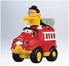 2011 Fisher-Price Little People Lil Movers Fire Truck - Ornament