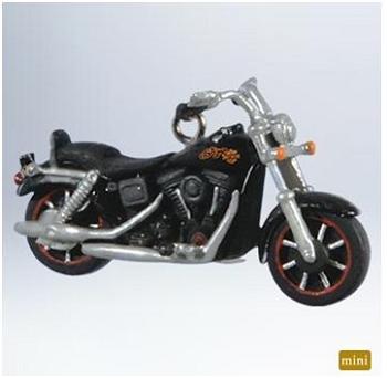 2011 Miniature Harley Davidson Motorcycle Hallmark ...