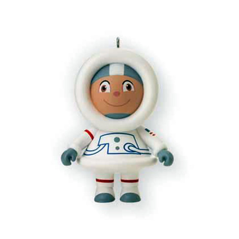 2012 Mystery Ornament, Astronaut Frosty