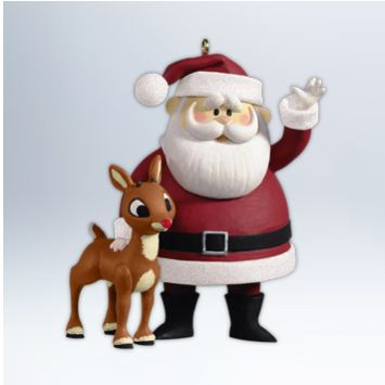 2012 Won't You Guide My Sleigh - Rudolph the Red Nose Reindeer & Santa