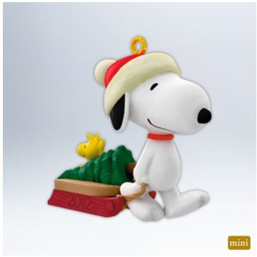 2012 Winter Fun With Snoopy #15 - MINIATURE  MIB