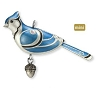 2012 Beauty of Birds MINIATURE Blue Jay
