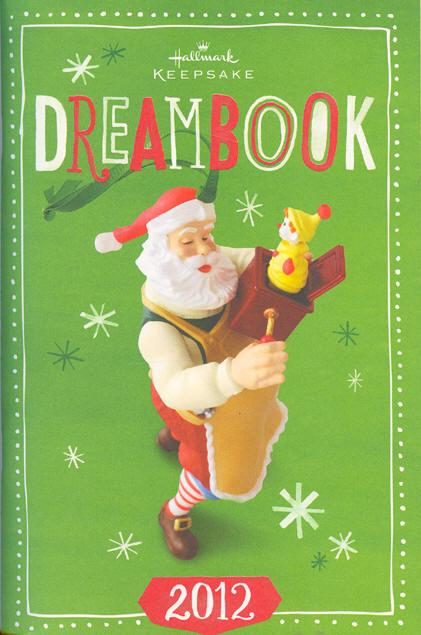 2012 Hallmark Ornament Dreambook At Hooked On Hallmark